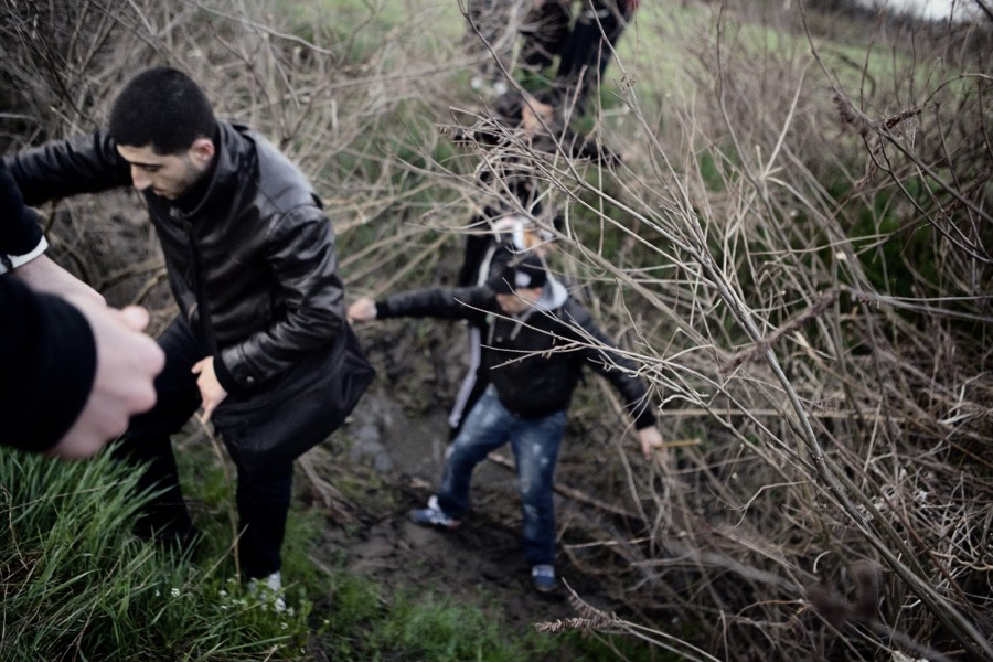 Evros, Greece. The main door for illegal immigration. Reportage by Giampaolo Musumeci